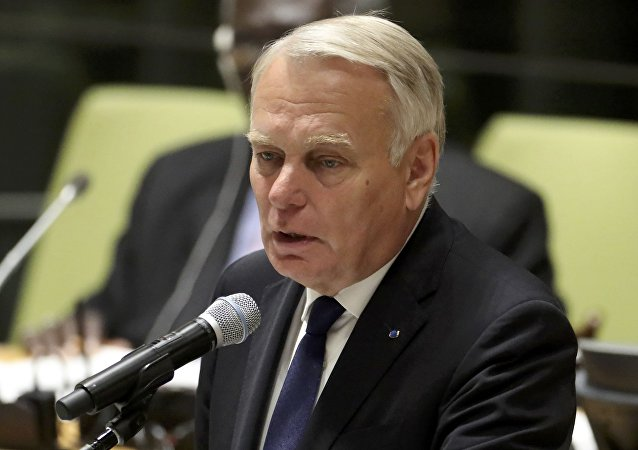 France's Minister for Foreign Affairs Jean-Marc Ayrault.