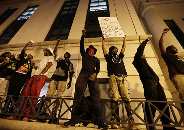 9/21 Charlotte Protesters After The Shooting Of Keith Lamont Scott
