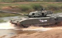 Demonstration of T-14 Armata tank