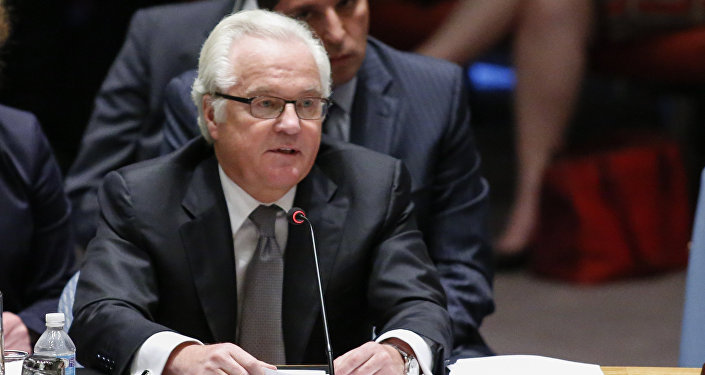 Vitaly Churkin, Russian Ambassador to the United Nations.