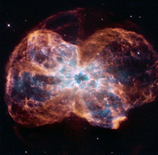 The NASA/ESA Hubble Space Telescope has released a colorful image of a demise of a Sun-like star