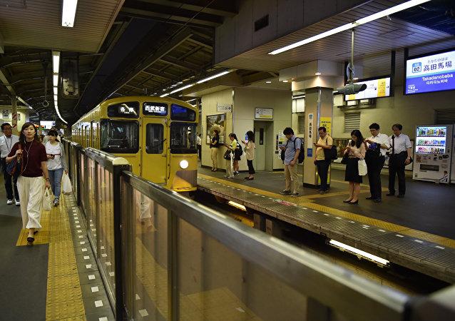 Tokyo's Seibu Shinjuku Line Takadanobaba station