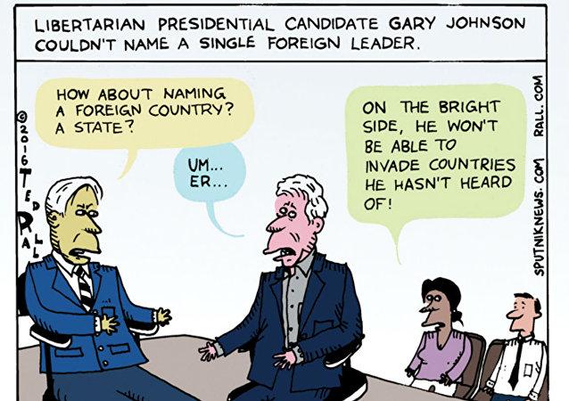 Gary Johnson, Man of the World