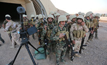 Shabak fighters undergo training before the upcoming battle to recapture Mosul in Diyala province, Iraq September 19, 2016