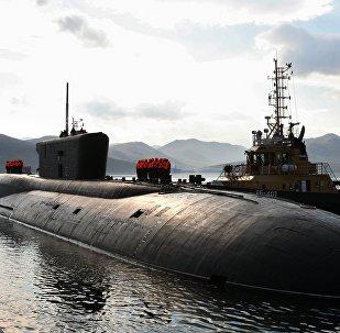 Vladimir Monomakh submarine returnd to its habitual Kamchatka base