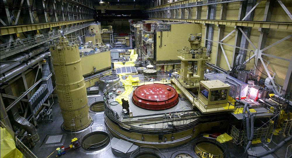 A general view of the reactor block No.2 in the nuclear power station of Paks at about 120kms south from Hungarian capital Budapest (File)