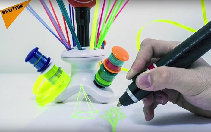 3D Pen: Creative and Environment Friendly