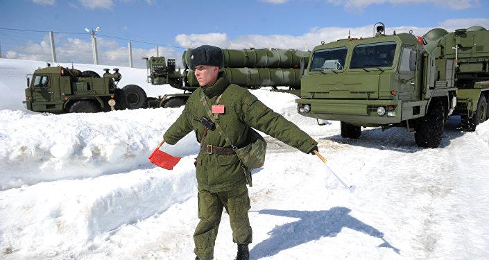 Combat duty 3PK S-400 Triumph in Moscow region