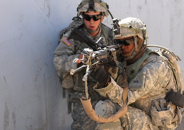 US soldiers. (File)