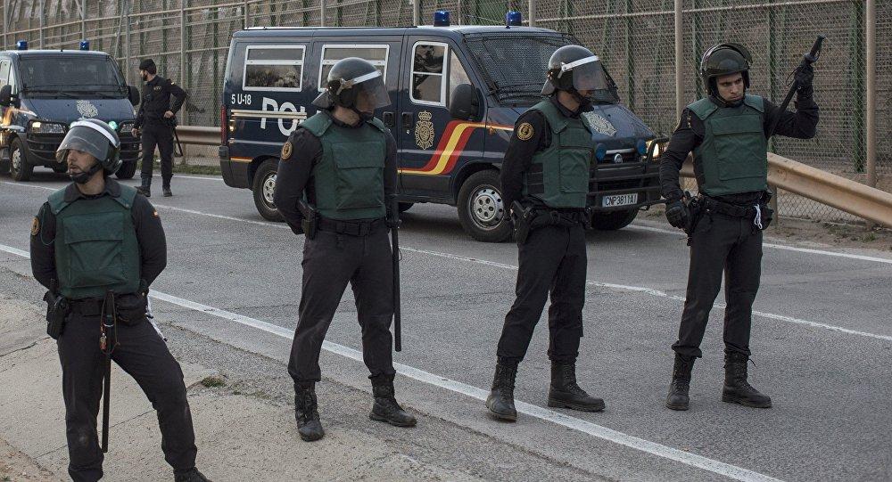 Spanish police. (File)