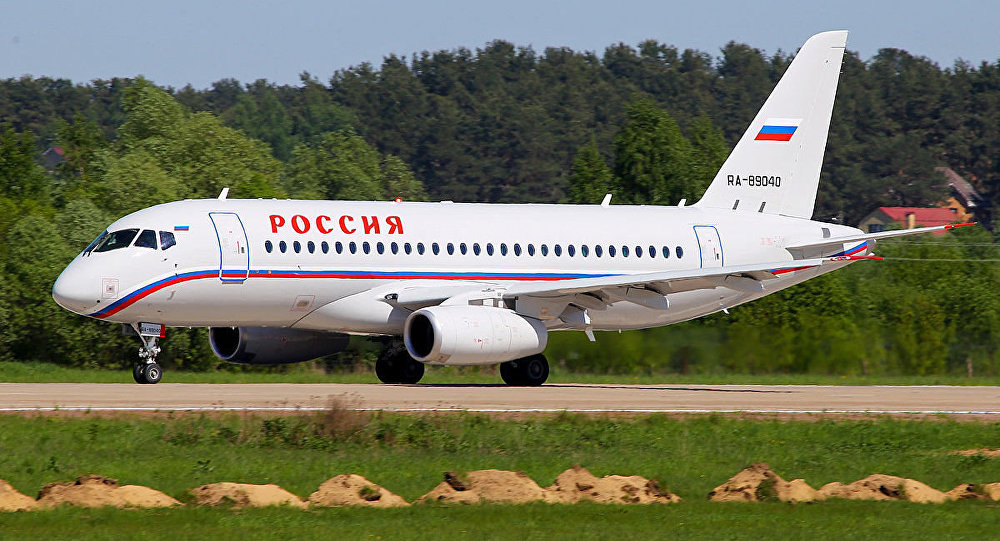 Russia Special Flight Unit Sukhoi Superjet 100-95 (RA-89040)