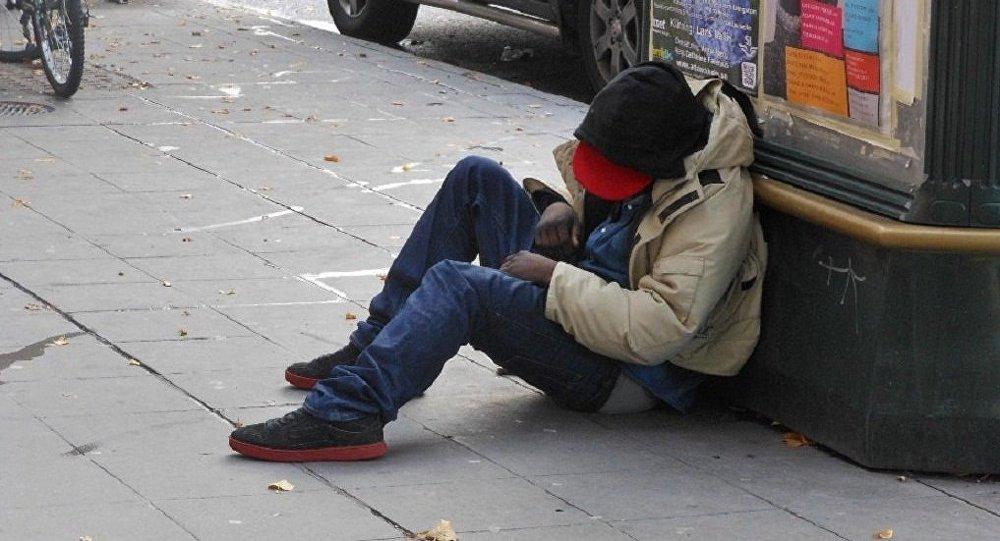 Homeless in Stockholm