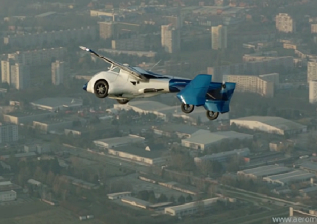 AeroMobil 3.0 prototype Test Flight 2015-03-23