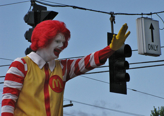 Poor Ronald! Creepy Clown Outbreak Keeping Ronald McDonald Lying Low