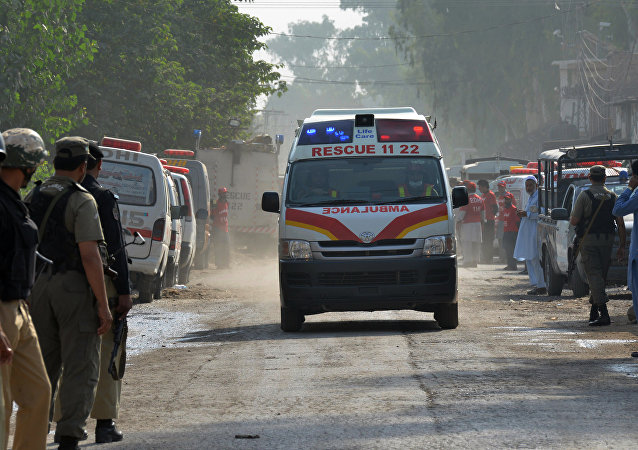 Ambulance in Pakistan (File)