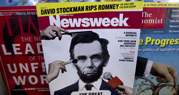 A copy of Newsweek is seen at Joe's Smoke, Thursday, Oct. 18, 2012, in Portland, Maine. Newsweek announced Thursday, Oct. 18, 2012 that it will end its print publication after 80 years and shift to an all-digital format in early 2013. Its last U.S. print edition will be its Dec. 31 issue. The paper version of Newsweek is the latest casualty of a changing world where readers get more of their information from websites, tablets and smartphones.