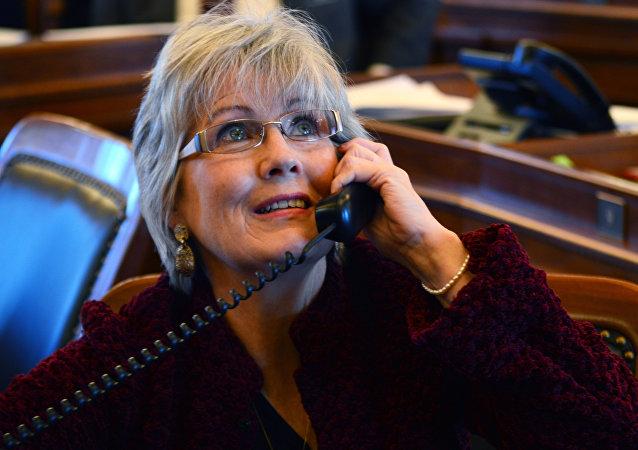 Kansas House Speaker Pro Tem Peggy Mast