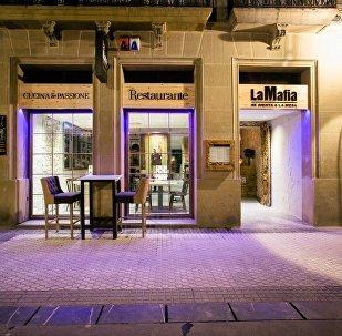 'La Mafia' restaurant