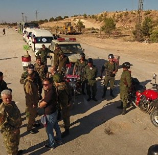Humanitarian corridor in northern Aleppo