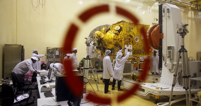 Satellite center of Indian Space Research Organization (ISRO) in Bangalore, India. File photo