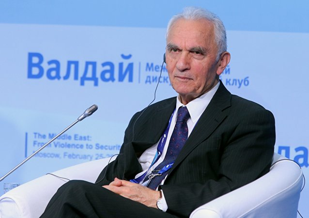 Former Foreign Minister of Turkey Yasar Yakis at the Valdai International Discussion Club conference. File photo