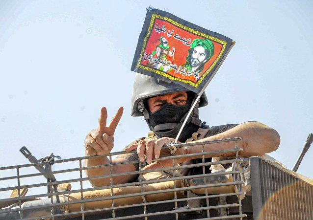 A Yazidi  soldier taking part in a  military operation to liberate Mosul. file photo
