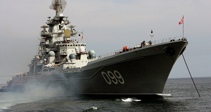 Pyotr Veliky nuclear-powered guided-missile cruiser