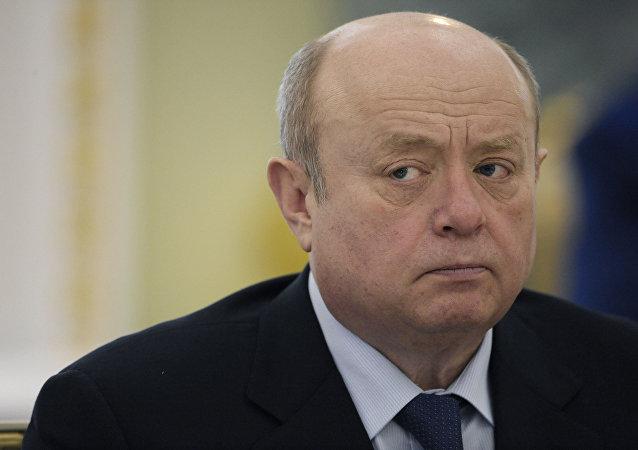 Михаил Фрадков на расширенном заседании коллегии Генеральной прокуратуры РФ
