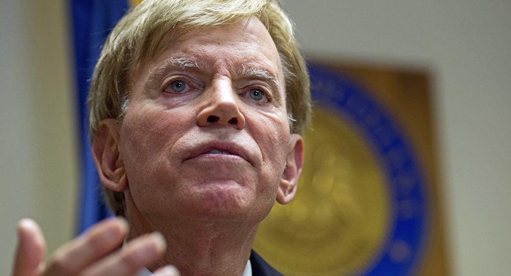 Former Ku Klux Klan leader David Duke (File)