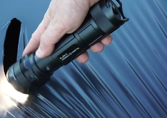 A Camper's Dream: Small and Powerful Flash Light Invented