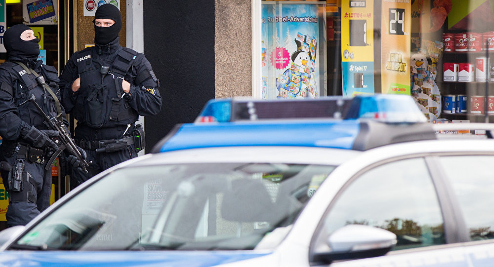 Police officers in Essen, western Germany. (File)