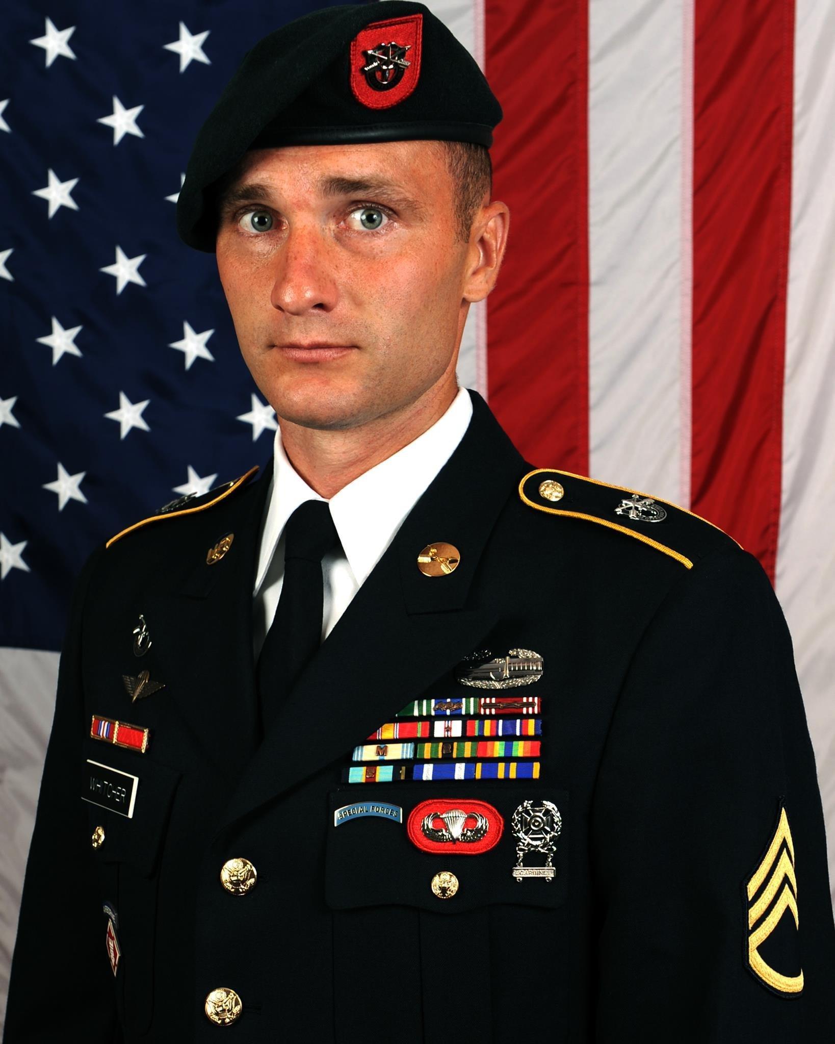Staff Sgt. David J. Whitcher, 30, of Bradford, New Hampshire
