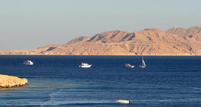 The Strait of Tiran and Tiran Island
