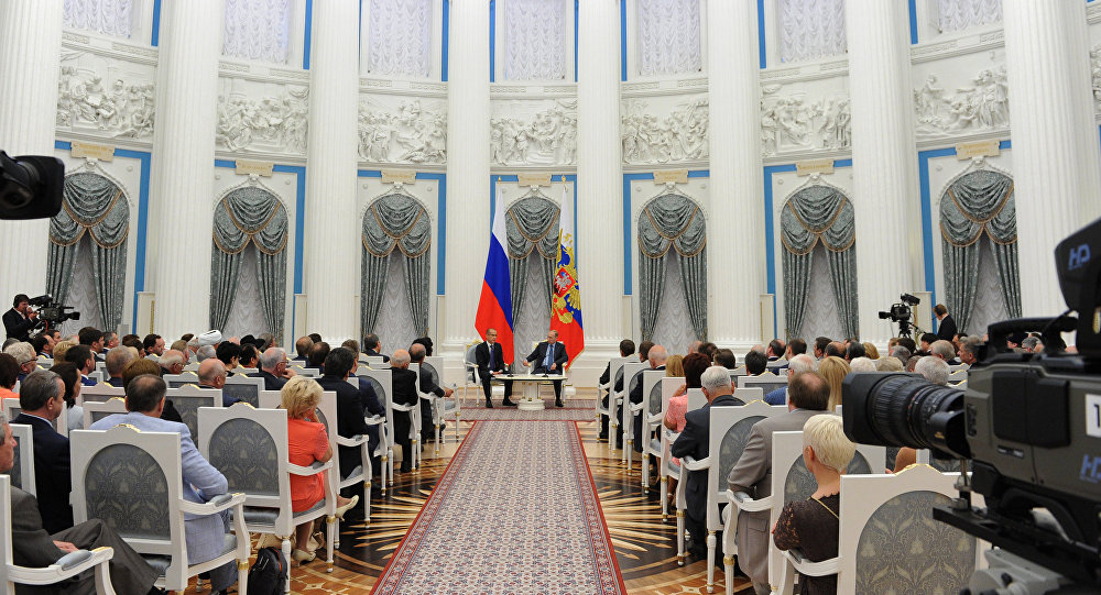 Putin and Civic Chamber