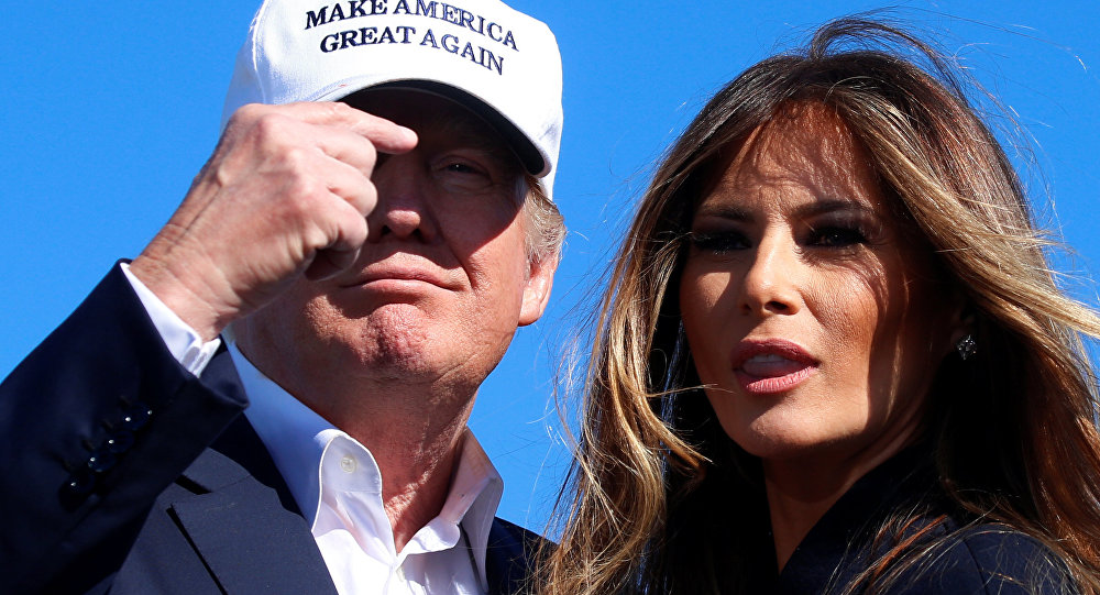 Image result for US First Lady Melania Trump