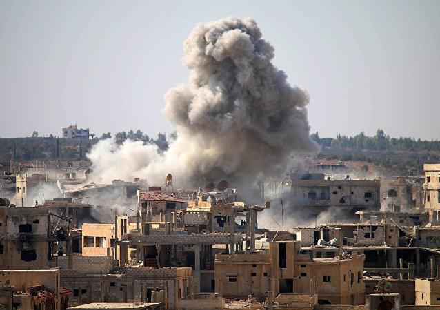 Daraa, southern Syria