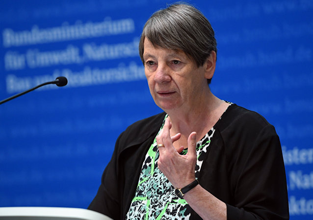 German Environment Minister Barbara Hendricks
