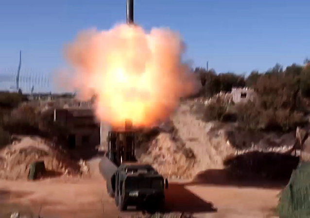Start cruise missiles Onyx with DBK Bastion on the project of the illegal armed groups in Syria