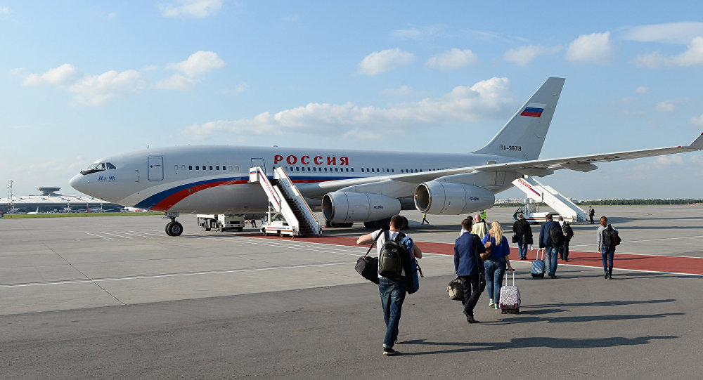 Il-96-300 aircraft