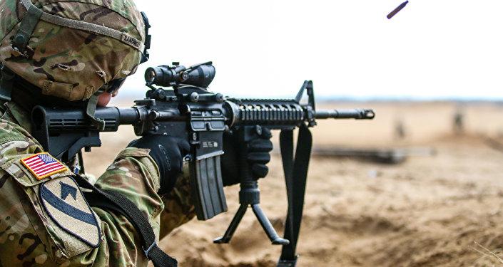 US serviceman. (File)