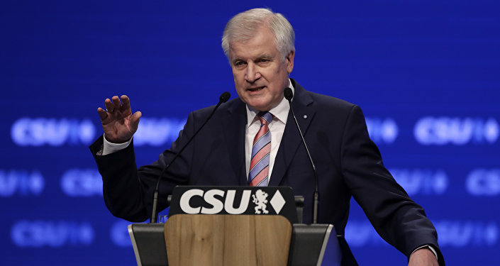 Seehofer addresses his party conference