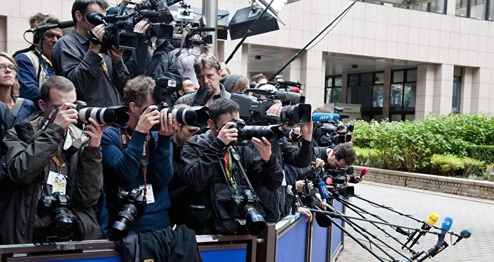 EU Summit - Journalists waiting for the bigs