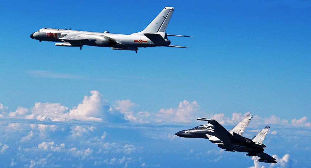 Japan sends fighters as Chinese jets pass Miyako Strait