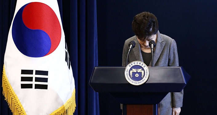 Ex-South Korean President Park Geun-Hye