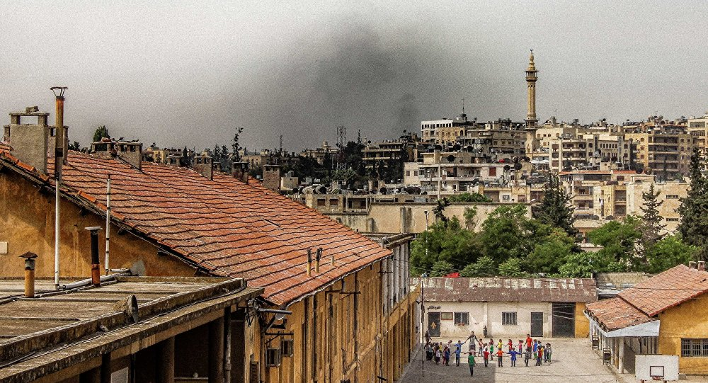 A view of Aleppo