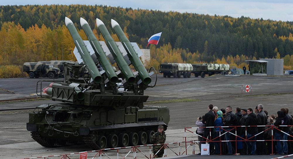 The Buk-M2E missile system. (File)