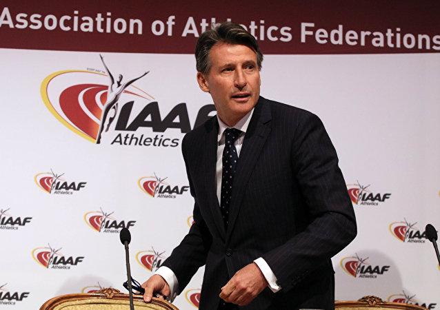 IAAF President Sebastian Coe (File)