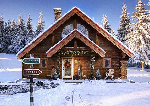 Santa's North Pole home