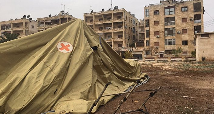 Russian defense ministry's mobile hospital in Aleppo comes under gunfire attack