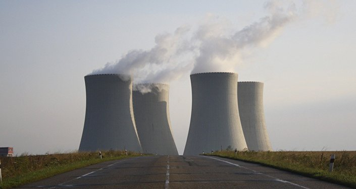Nuclear power plant. (File)